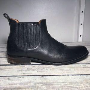 Frye Phillip Chelsea Black Boots Size 12